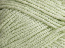 lime cream—Patons cotton blend 8 ply
