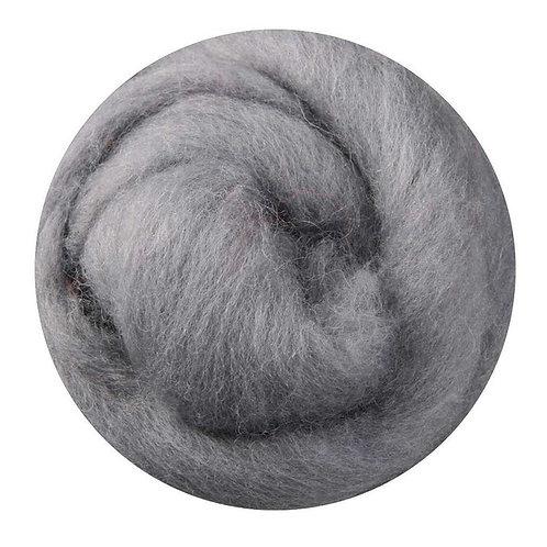 grey—Ashford Merino slivers