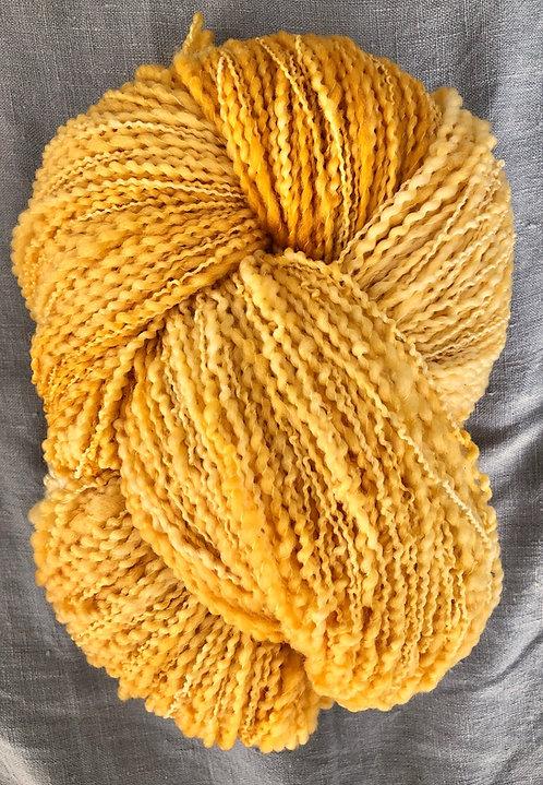 Mustard—Merino Slub 8 ply 100g