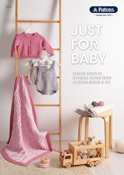 Just For Baby 8030—Patons