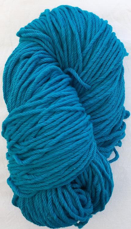 Dark Turquoise Rug Yarn 16 ply—Mollydale Yarns