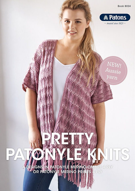 Pretty Patonyle Knits 8024 by Patons