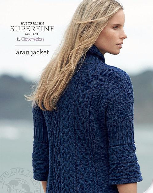 Aran Jacket by Cleckheaton
