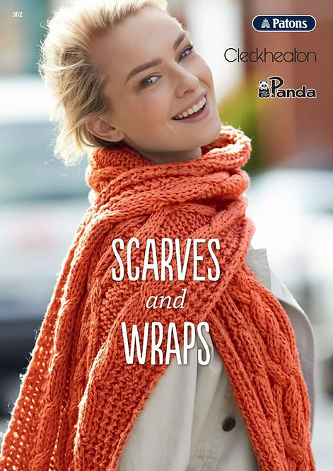 Patons Scarves and Wraps UB0003 - 302