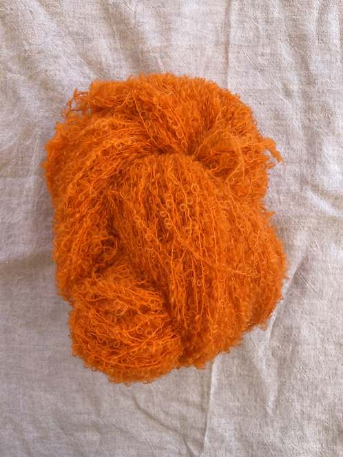 Citrus Boucle Mohair 12 ply—Mollydale Yarns