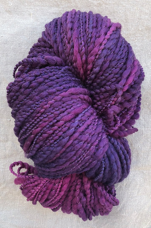 Mulberry—Merino Slub 12 ply 100g