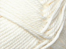 cream—Patons cotton blend 8 ply