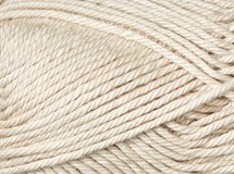 natural—Patons cotton blend 8 ply