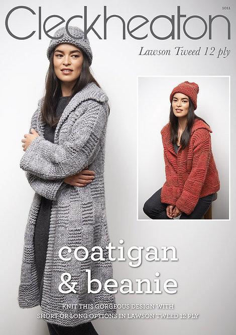coatigan & beanie 1011 By Cleckheaton