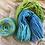 Thumbnail: Blue/Green Multi—Perendale 16 ply