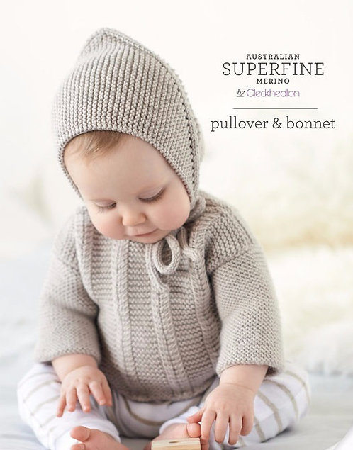 Pullover & Bonnet by Cleckheaton 421