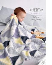 baby's triangle rug