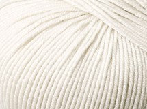 White—Cleckheaton Superfine Merino 4 ply