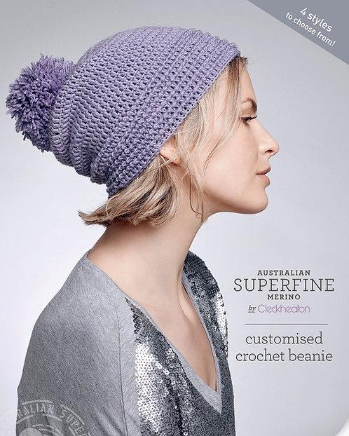 customised crochet beanie