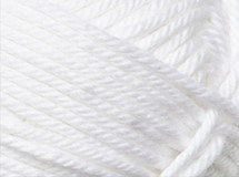 white—Patons cotton blend 8 ply