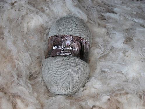 light grey 4 ply merino wool