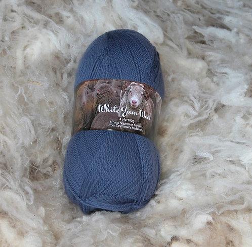 dark blue 4 ply merino wool