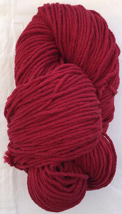 Dark Red Rug Yarn 16 ply—Mollydale Yarns