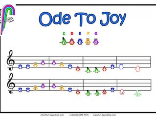 😊 Ode To Joy on Guitar 🎸
