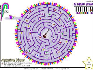 Amazing Mazes - Scales Game!