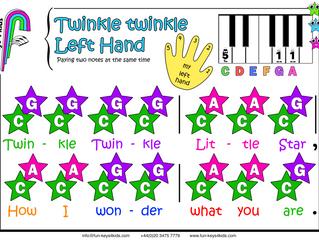 Twinkle Twinkle - Left Hand 👋