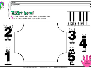 Play Piano with Your Right Hand