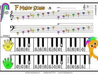 Learning the F Major Scale
