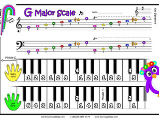 Learning the G Major Scale