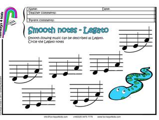 Pre-school Piano - Legato!