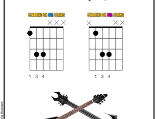 Guitar Power Chords - Play like a rock star!