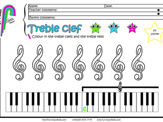 Treble Clef & Bass Clef
