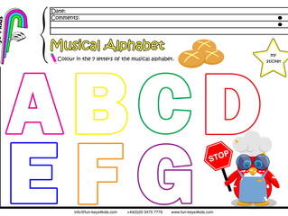 The Musical Alphabet