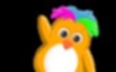 Funky F Orange Penguin