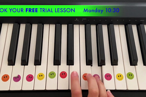 TRIAL - Piano Zoom Lessons