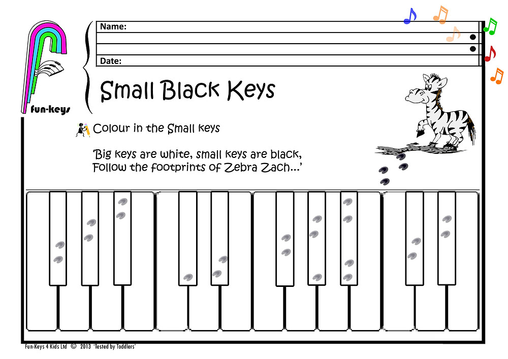 Here is a small Black Keys Zebra funsheet for you all!