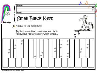 Zebra turns into Zebra on Zebra Crossing into Piano