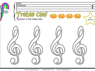 Treble and Bass Clef