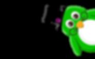 Capital C Green Penguin