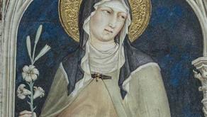 Il segno di Santa Chiara...