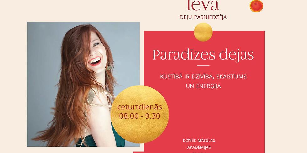 """Agrā rīta nodarbība """"Ievas paradīzes dejas"""""""