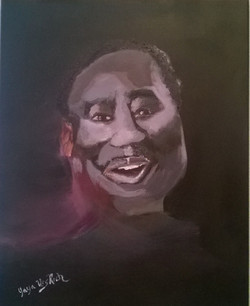 Muddy Waters Acrylic by UrsRich4Art
