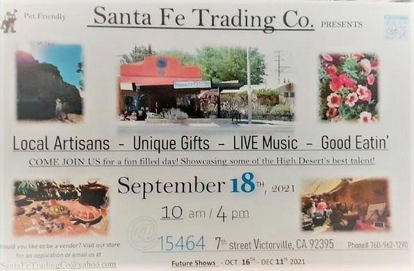 Santa Fe Trading Company Flier