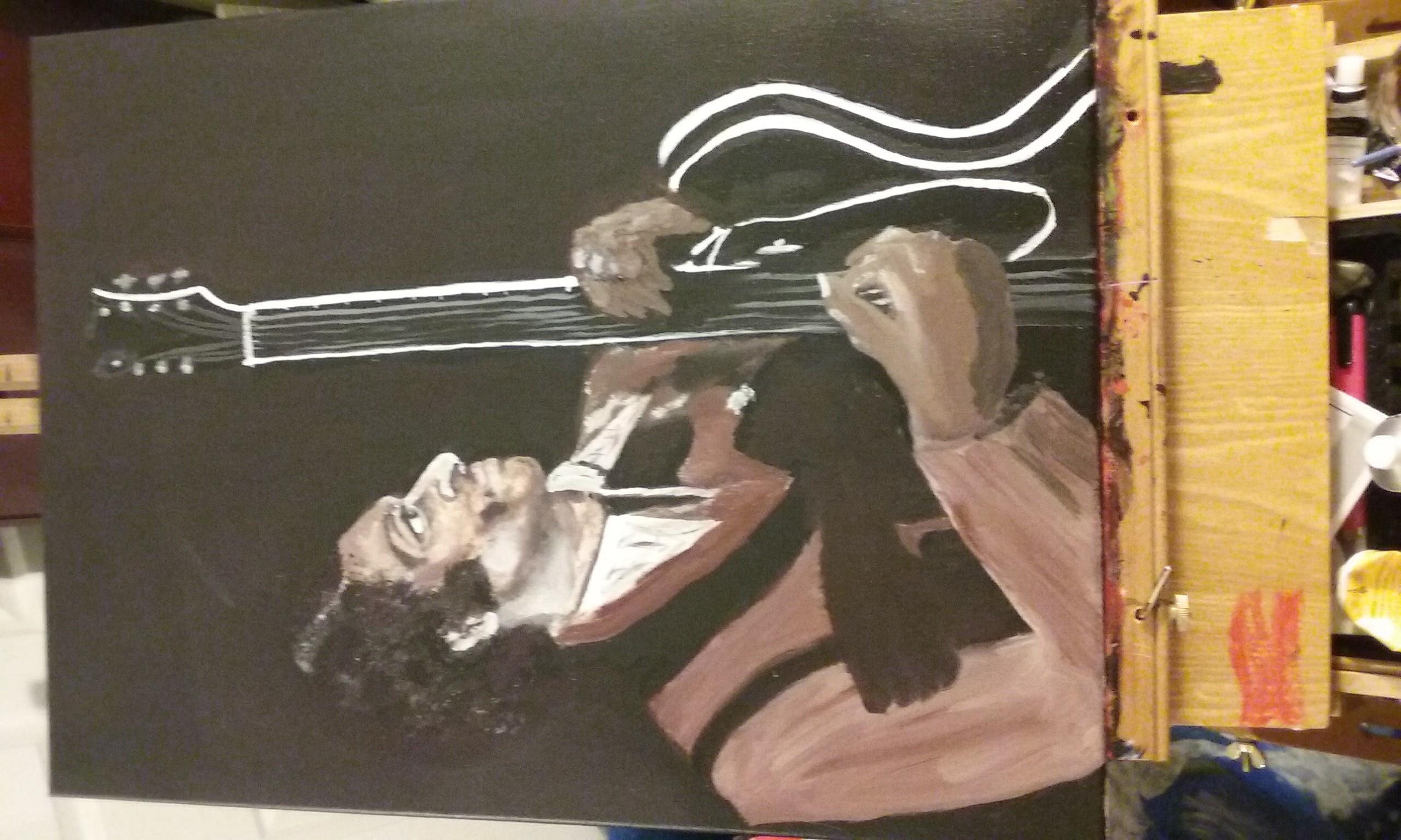 Chuck Berry Artist Ursula Richards