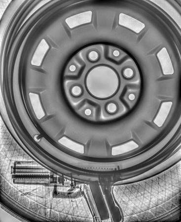 Contraband Inside a Tire