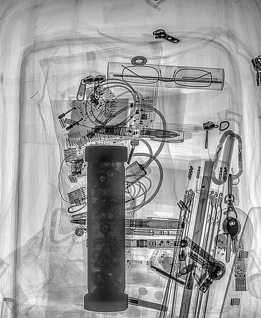 Steel Pipe Bomb Inside Backpack