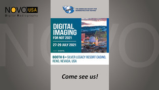 ASNT Digital Imaging for NDT 2021 - Come See Us!