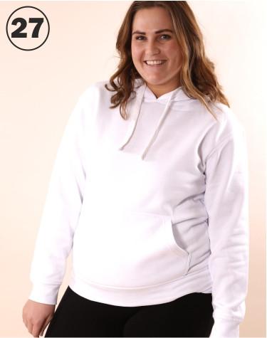 Basic hooded White