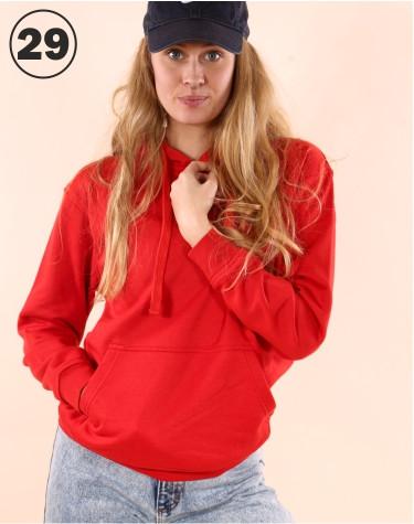 Basic Hooded Red