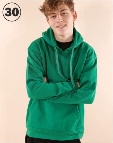 Basic Hooded Green