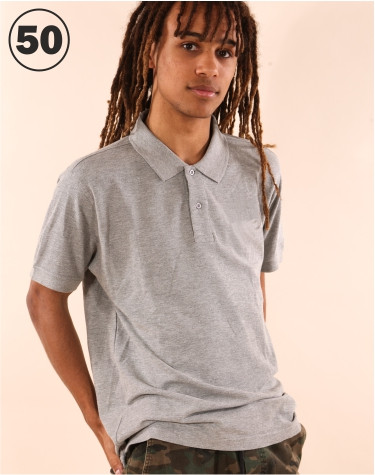 Basic Poloshirt Grey